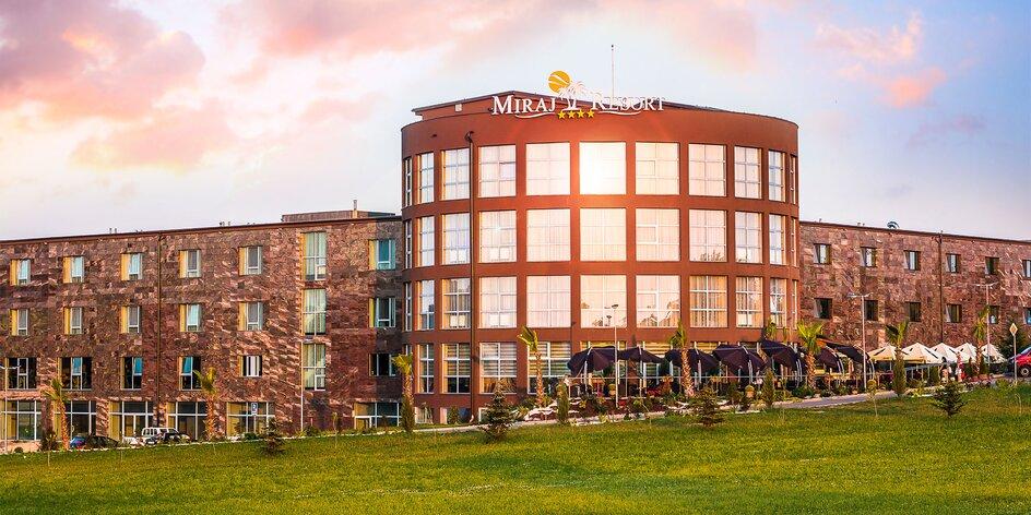 Luxusný wellness pobyt v exkluzívnom novootvorenom Miraj Resort****