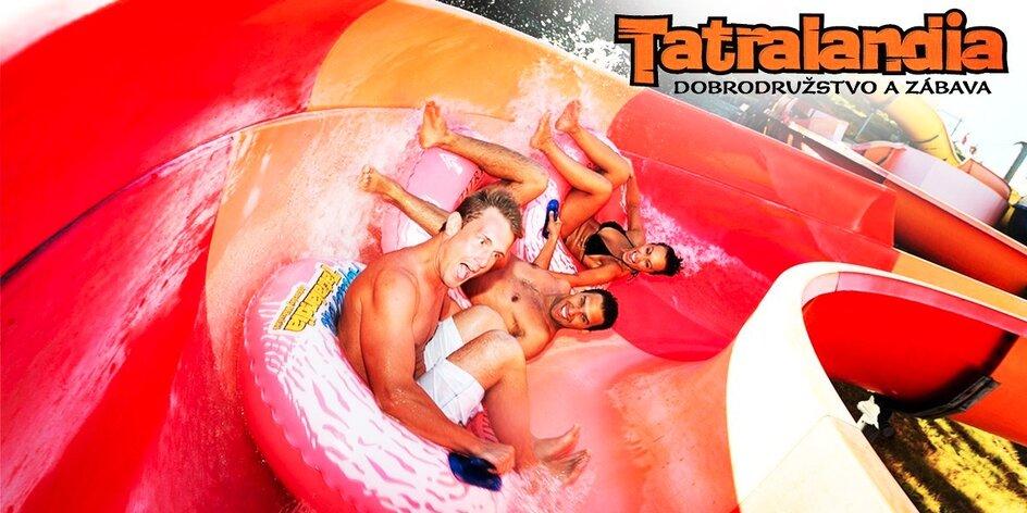 Tatralandia - celodenné bláznenie sa v bazénoch