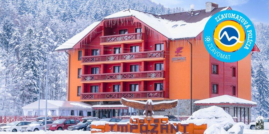 Wellness & Ski Hotel Impozant**** v srdci Valčianskej doliny