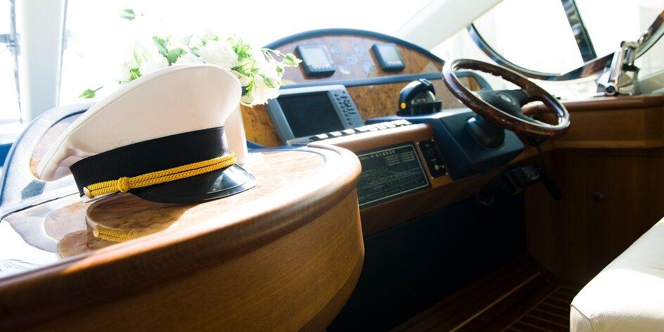 Kapitánsky kurz na člny, vodné skútre a plavidlá