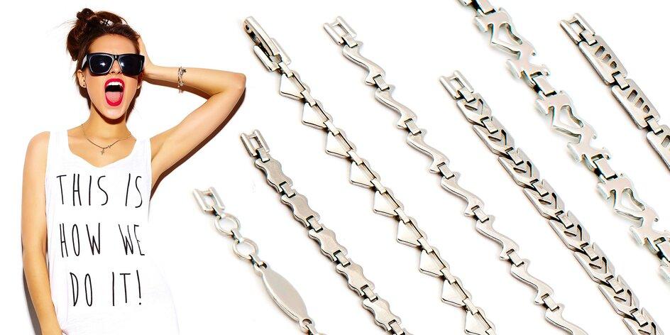Set z chirurgickej ocele retiazka + náramok