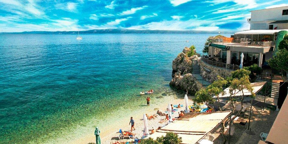 Dovolenka na Makarskej so súkromnou plážou!