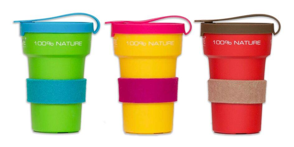 Ekologický pohár z bioplastu