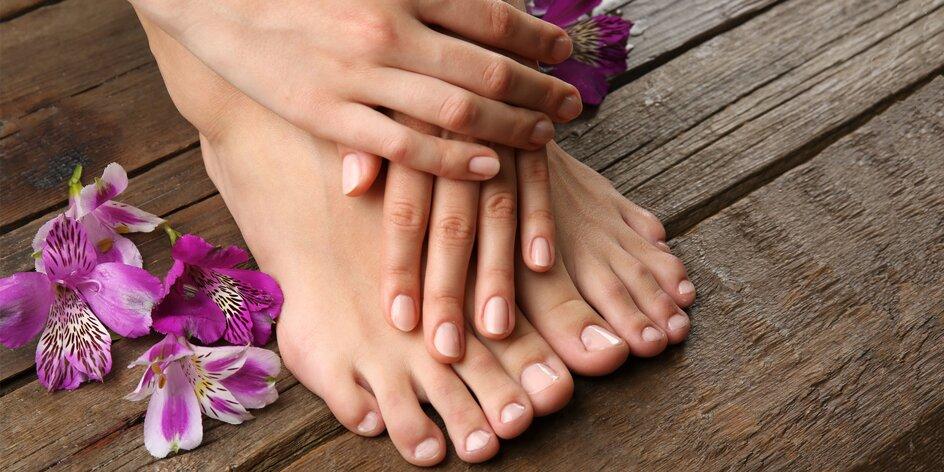 Balík ošetrení pre nechty na nohách i rukách!