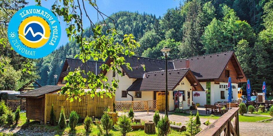 Wellness pobyt na južnej strane Chopku v penzióne Bystrinka