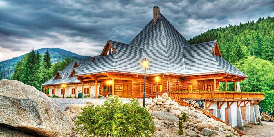 Pobyt v krásnej prírode aj s wellness na juhu Nízkych Tatier