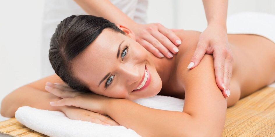 Klasická masáž vybraných častí tela
