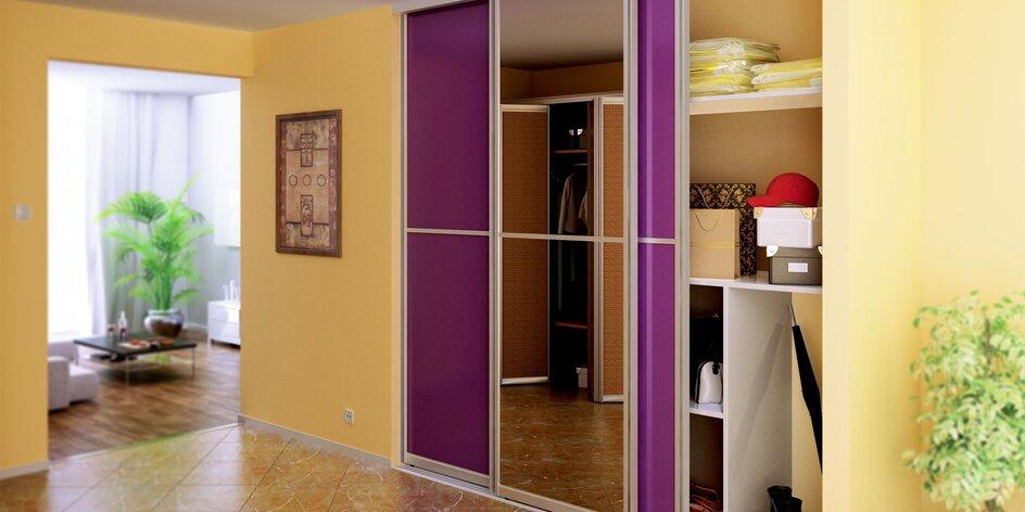 Zľava na vstavané skrine s posuvnými dverami