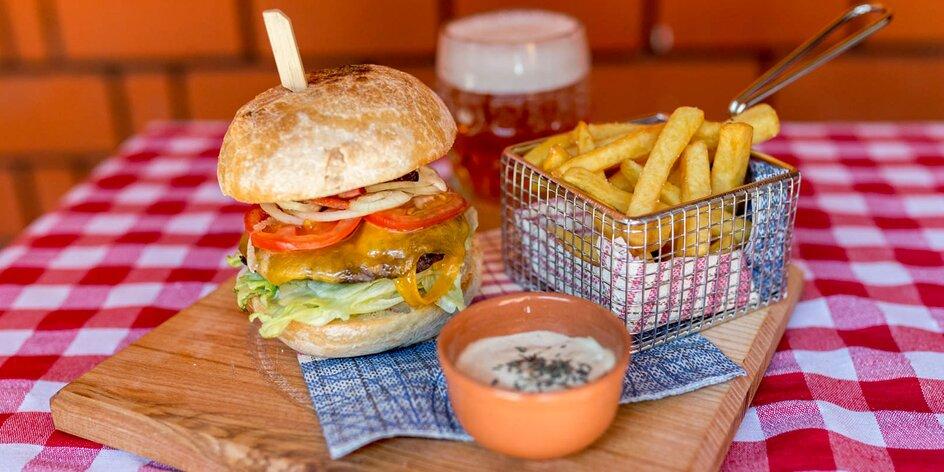 Kuracie stripsy, rezne či hovädzí burger