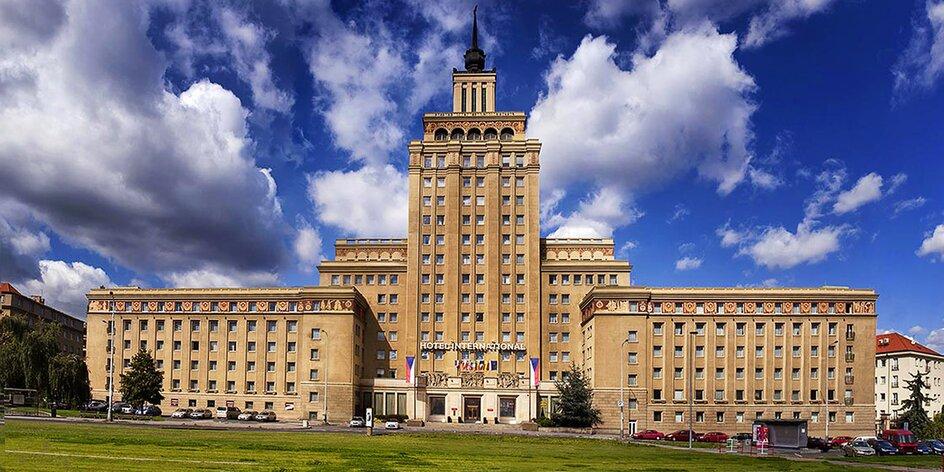 Legendárny hotel International v Prahe, výborné ubytovanie aj poloha