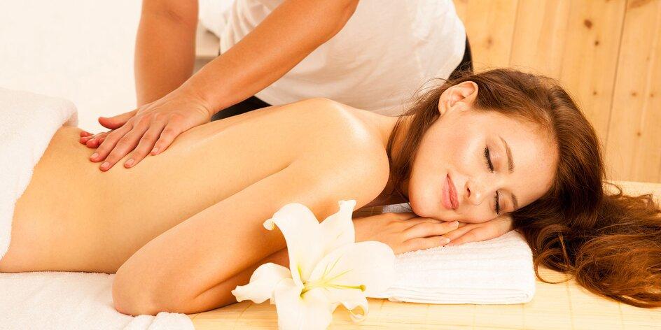 Klasická masáž chrbta a šije + 15 min. masáž podľa výberu pre ženy