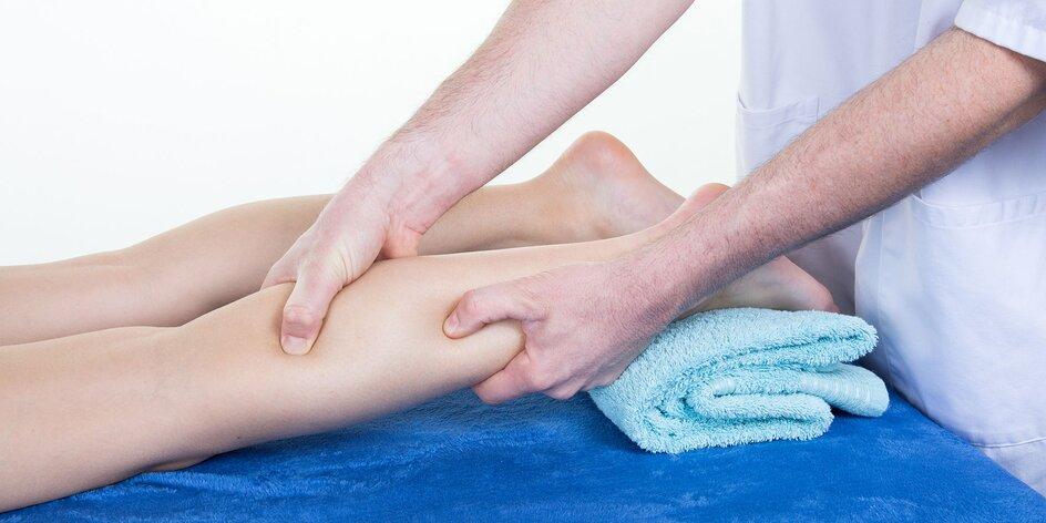 Cvičenie s fyzioterapeutom alebo lymfodrenáž