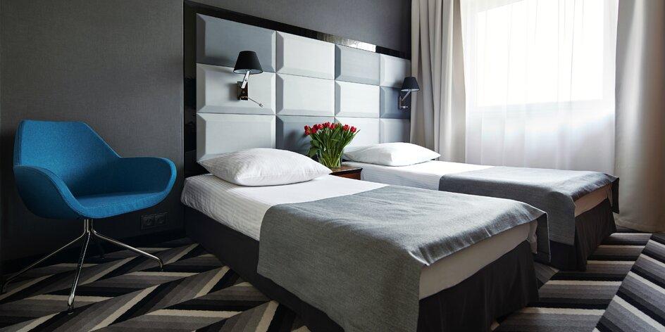 Oddych pre 2 osoby v Apis Hoteli**** v Krakove
