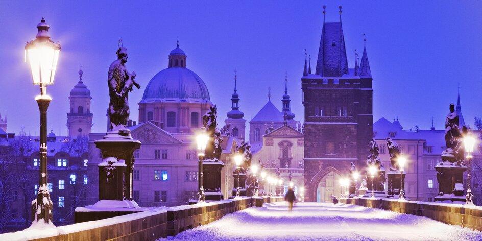 Pobyt v hoteli v centre Prahy: advent aj zimná pohoda