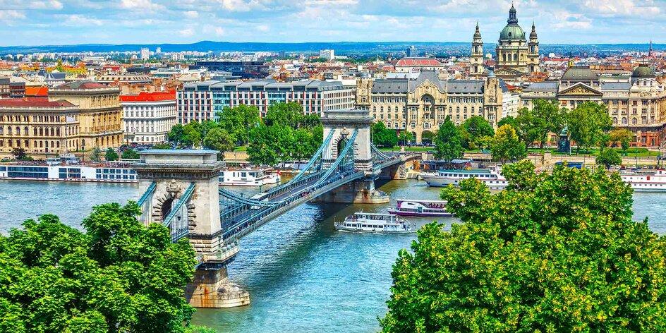 Užite si parádny čas v Budapešti v Hoteli Corvin Wing****