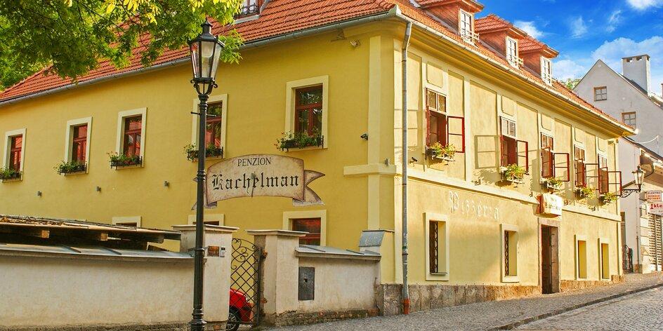 Penzión Kachelman s wellness v historickom centre Banskej Štiavnice