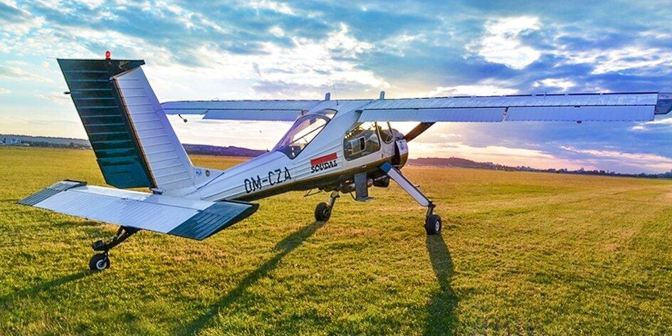Zážitkový let alebo zľava na letecký výcvik