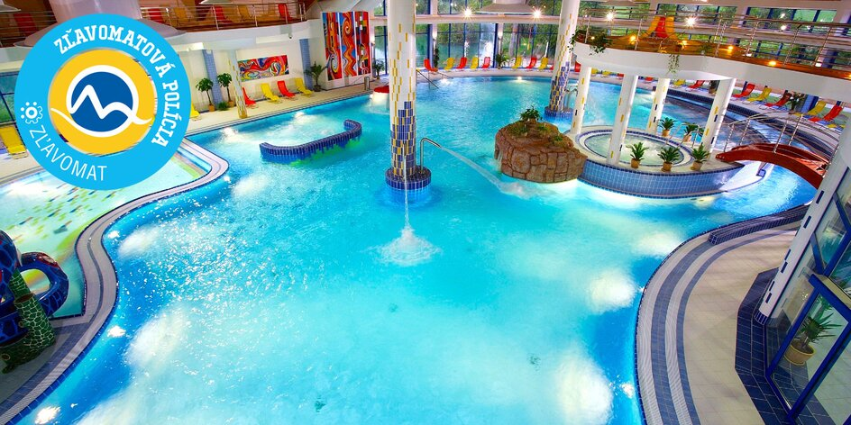 Wellness Hotel Patince**** so vstupom do bazénov a saunového sveta