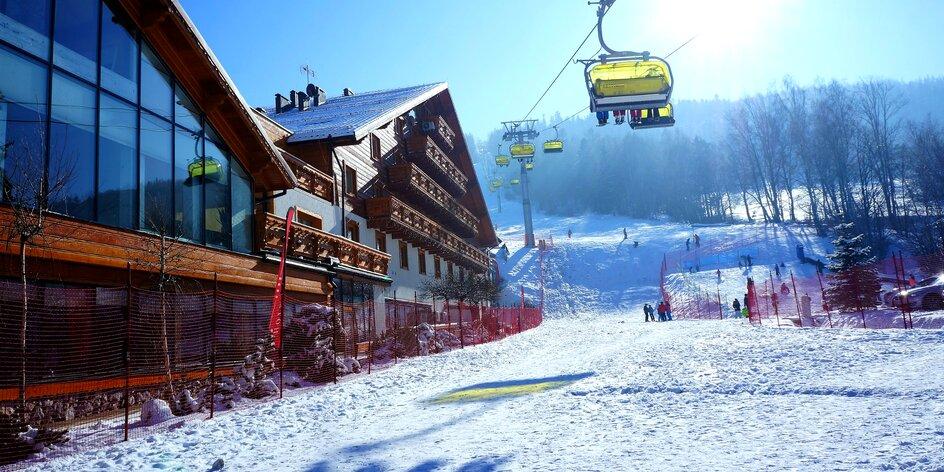 Skvelý pobyt s neobmedzeným vstupom do wellness a lyžovačkou
