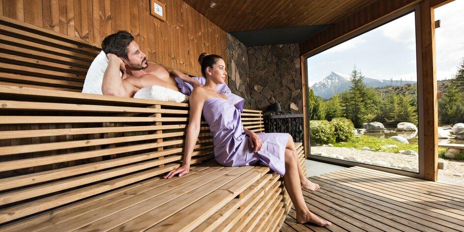 Zima a Jar v zrube Permoník so vstupom do TOP wellness Grand hotela Permon****