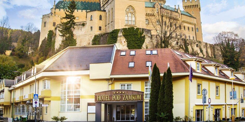 Wellness pobyt pre 2 osoby v Hoteli Pod Zámkom****