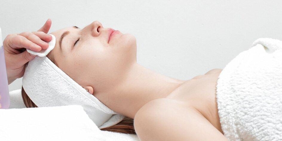Mikrodermabrázia, masáž tváre a jej čistenie