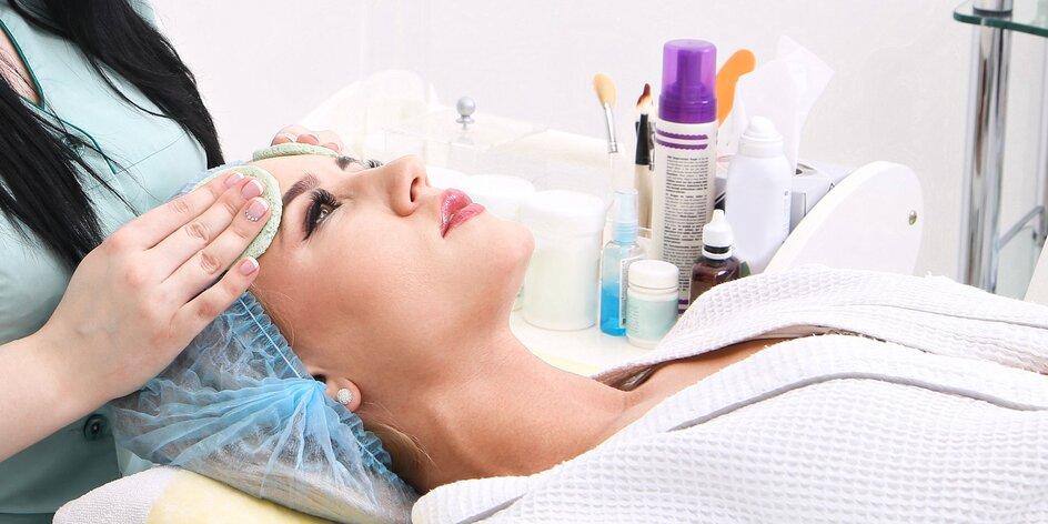 Hĺbkové ošetrenie pleti s možnosťou masáže tváre