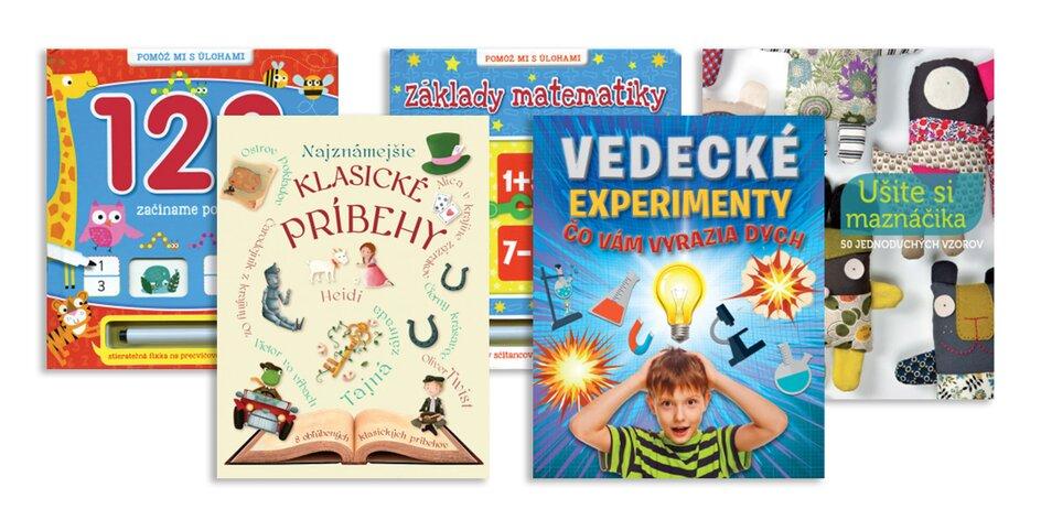 Poučné a hravé detské knihy od Svojtky