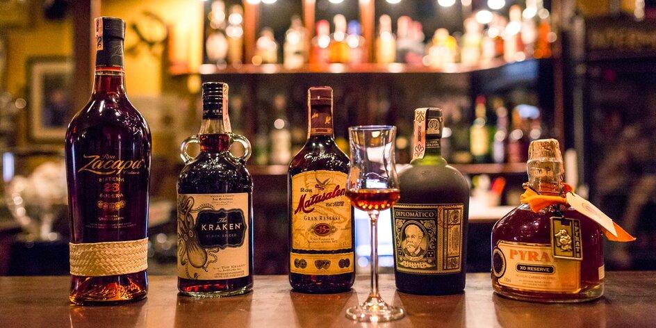 Ochutnávka rumov a likérov pre fajnšmekrov!
