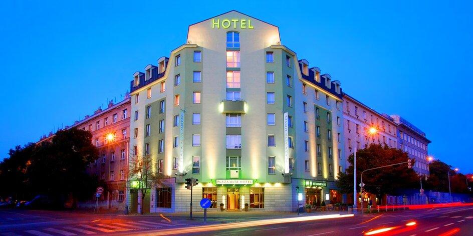 Výlet do Prahy: 4* ekologický hotel, super po