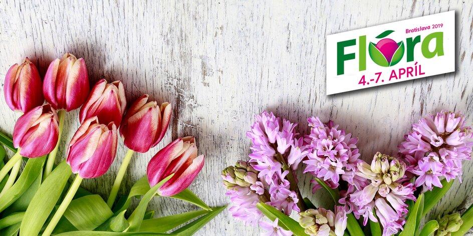 40. ročník veľtrhu kvetín a záhradníctva FLÓRA BRATISLAVA