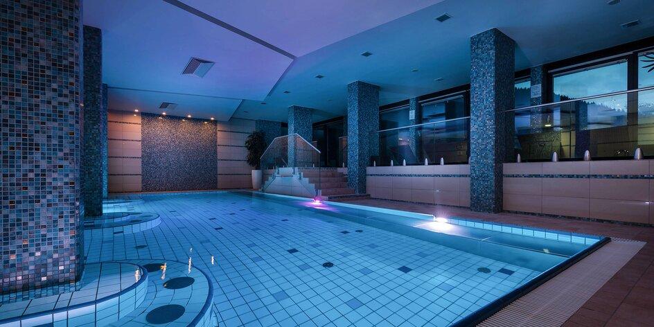 Relax s TOP výhľadom v Jasnej vo Wellness Hoteli Repiská***