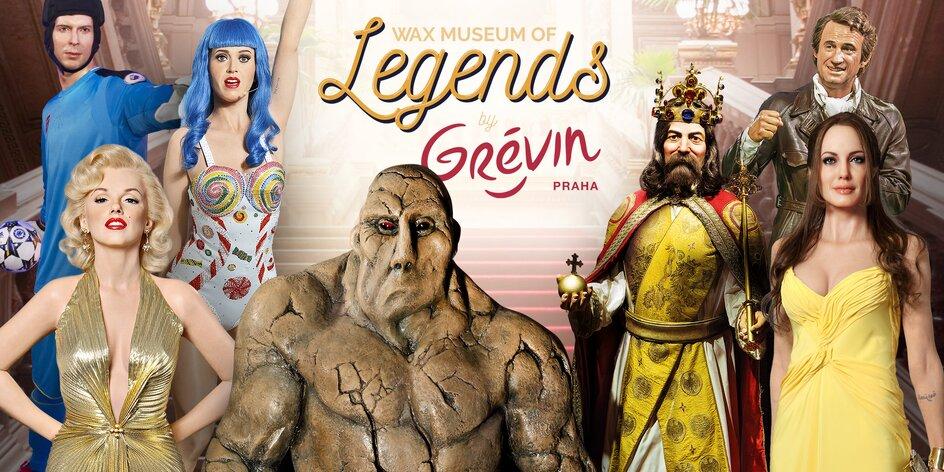 Úplne nové Wax museum of Legends by Grévin