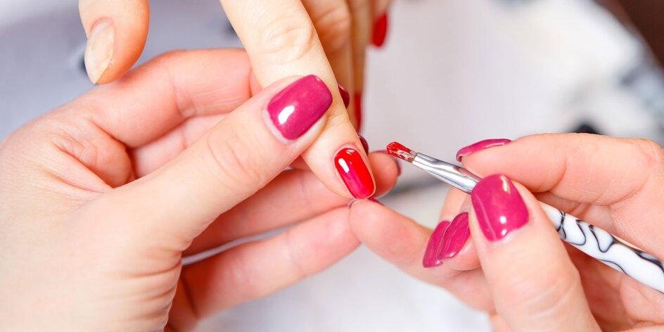 Japonská manikúra, gélové alebo polyakrylové nechty
