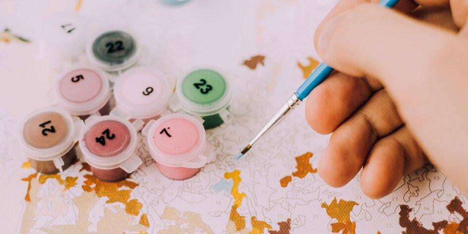 Každý môže byť umelcom: vlastná maľba podľa čísel