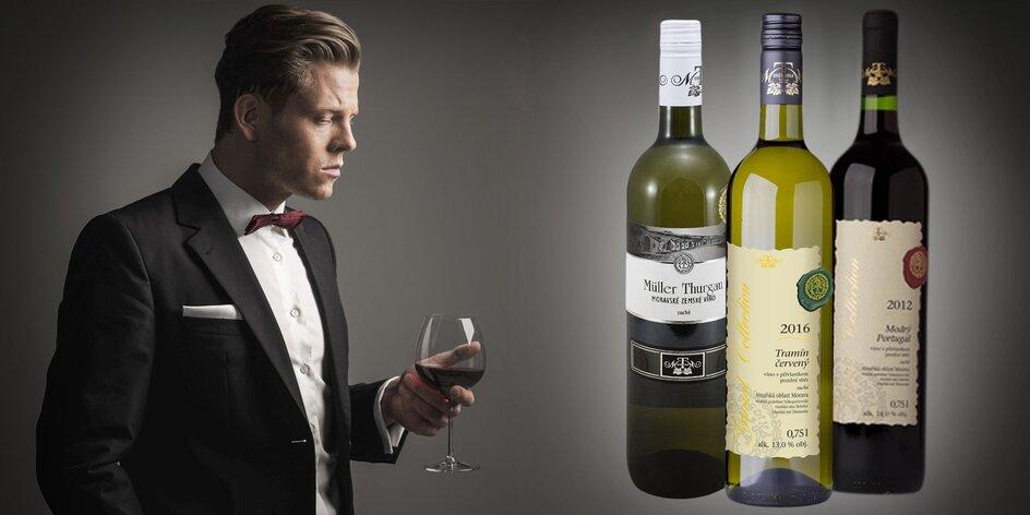 Víno z vinotéky Mitoma: 6 fliaš x 0,75 l