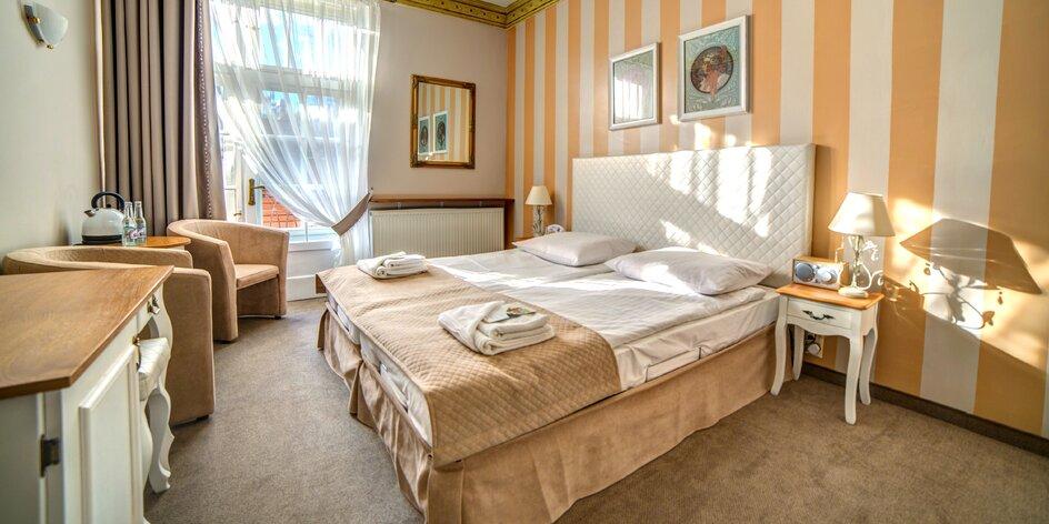 Romantický pobyt v secesnom poľskom penzióne: sauna aj raňajky
