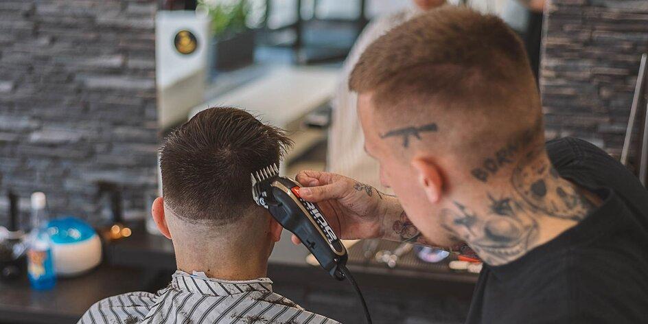 Pánsky strih alebo úprava brady u barbera