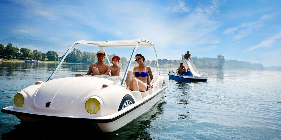 Letný pobyt až pre 9 osôb na Lipt. Mare s vodnými športami