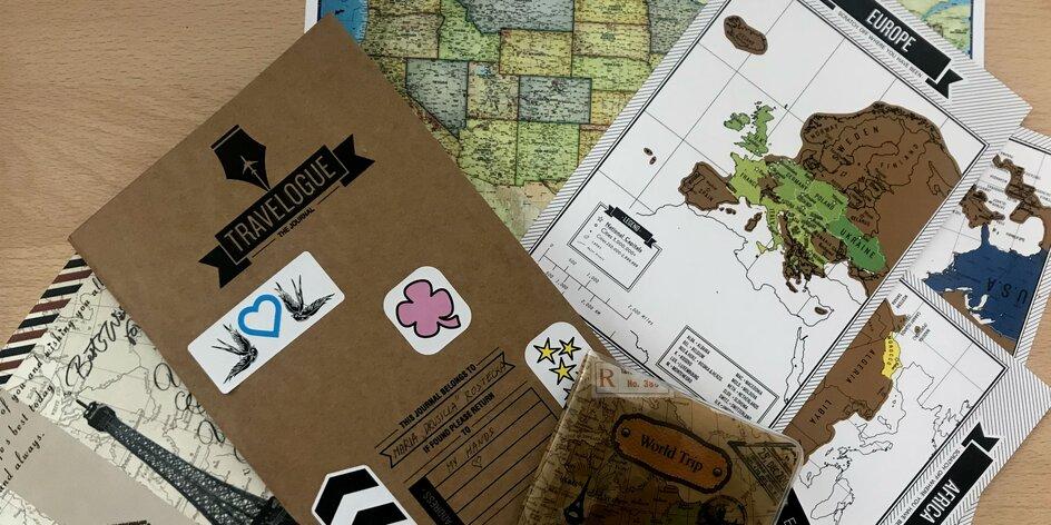 Kreatívny cestovateľský denník na všetky tvoje cesty!