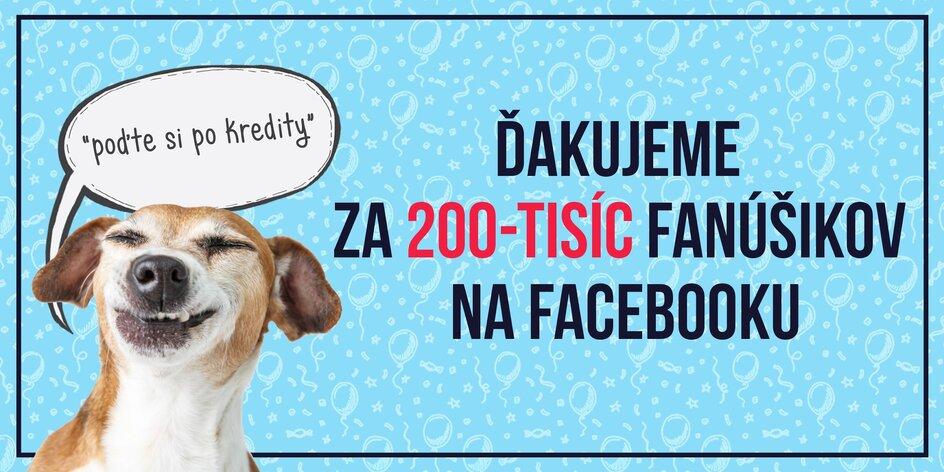 200 000 fanúšikov! ☺