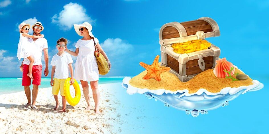 Vyberte si skvelú dovolenku a dáme vám až 20 € na ďalší nákup