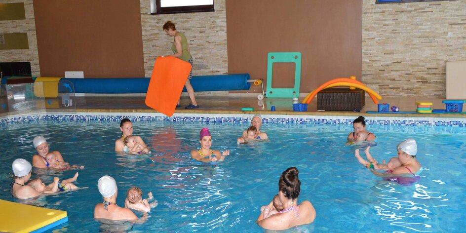 Plavecký kurz – zábava pre detičky, kontakt pre mamičky