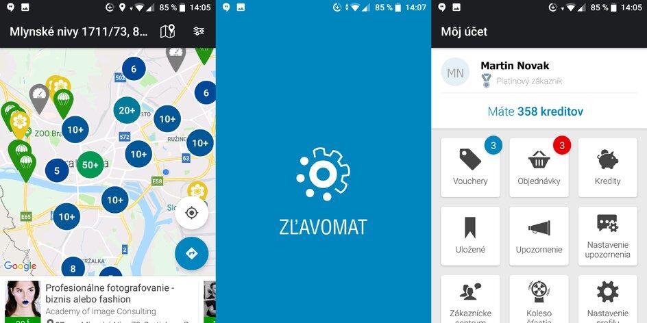 Nová mobilná aplikácia Zľavomat