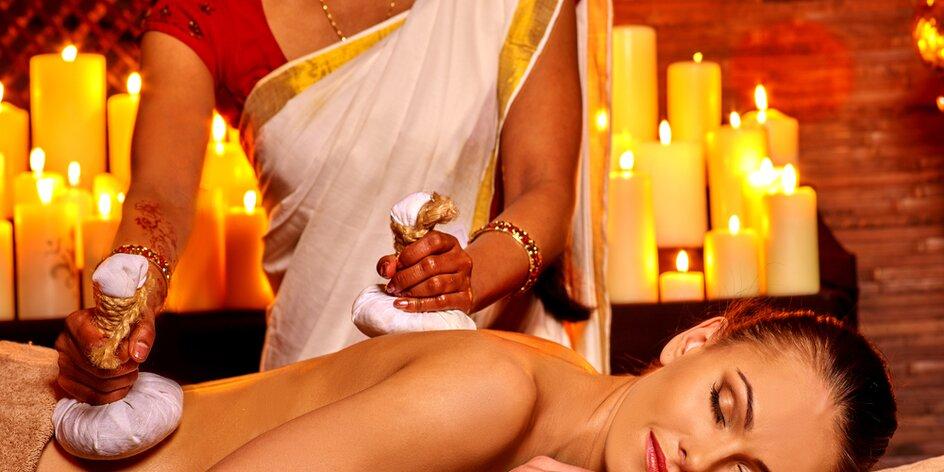 TESTUJEME: Ajurvédska masáž