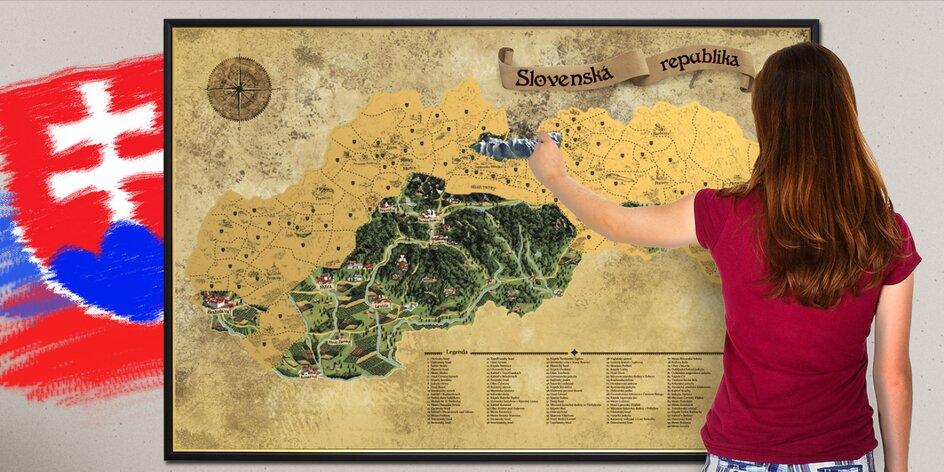 SÚŤAZ pre vášnivých cestovateľov! Vyhrajte stieracie mapy!