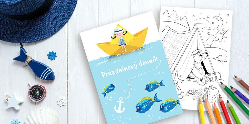 Letný špeciál aj so SÚŤAŽOU pre vaše deti je tu! Denník plný rébusov, maľovaniek a zábavy.