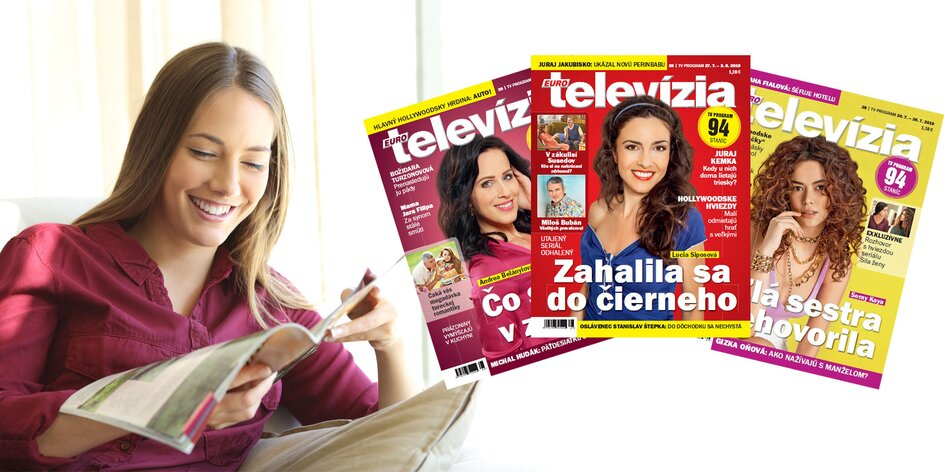 Ročné predplatné týždenníka Eurotelevízia