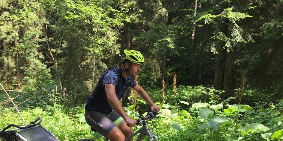 Magurka - na bicykloch do najvyššie položenej obce na Slovensku