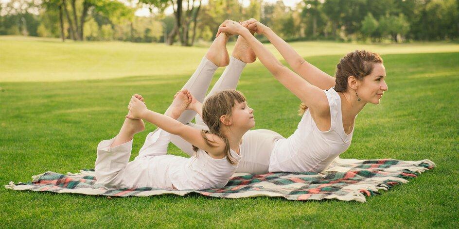 Joga s deťmi - to je oddych a zábava v jednom!